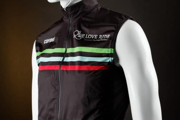 Live Love Ride cycling gilet